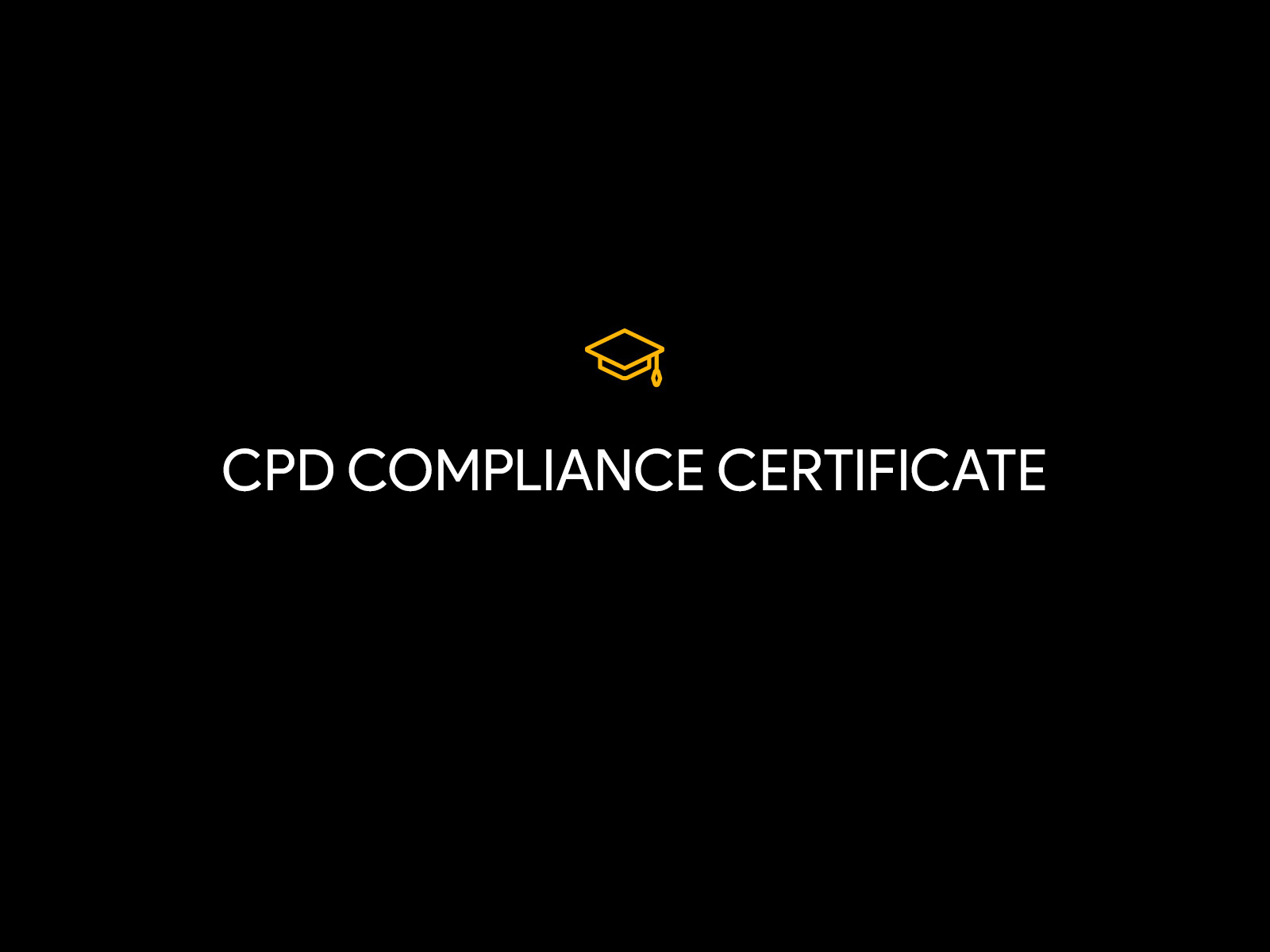 cpd compliance
